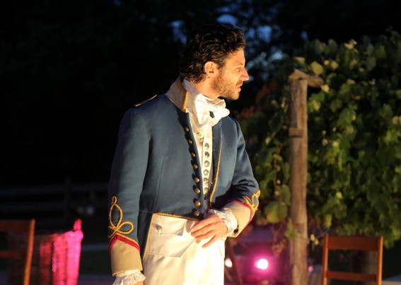 Tim Walter in Much Ado About Nothing